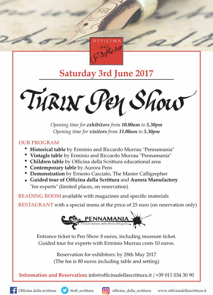 Turin Penshow<br><small>June 3, 2017</small>