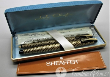 Set de Pluma y Bolígrafo Fountain Pen Sheaffer Lady 904
