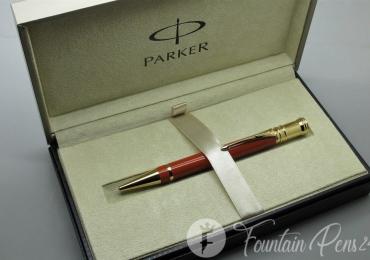 Bolígrafo Ballpoint Pen Parker Duofold Big Red GT