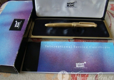 SOLD !!!!  MONTBLANC MEISTERSTRUCK LEGRAND 146 18kt.750 SOLID GOLD FOUNTAIN PEN