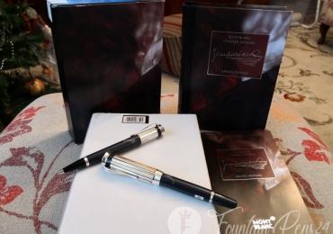 Montblanc  Writers Edition  SET Charles Dickens Fountain Pen + Ballpoint Pen Pluma estilografica + Boligrafo