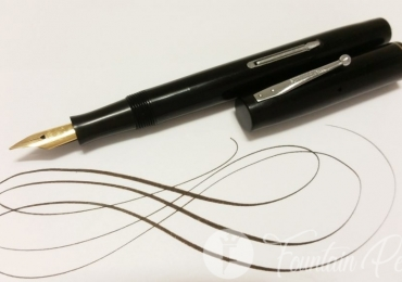1930 Waterman's IDEAL black 32 flexible nib usa