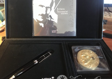 Bolígrafo Montblanc Edición Limitada Donation Pens Arturo Toscanini