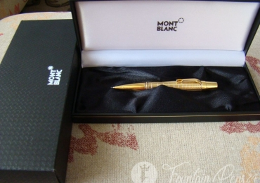Montblanc Boheme citrine gold plated Mechanical pencil