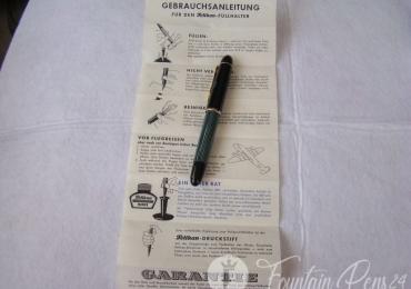 Pelikan Souverän 140 Green Stripe Fountain Pen