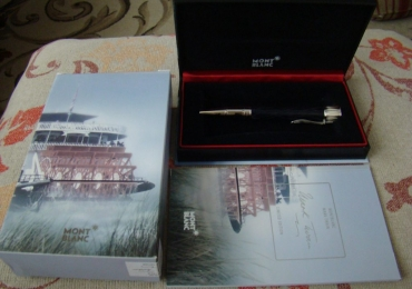 SOLD !!!   MONTBLANC MARK TWAIN WRITERS SERIES LIMITED EDITION Ballpoint Pen