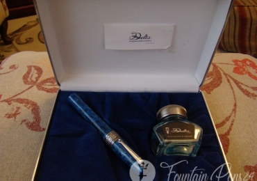 Delta Segovia Limited Edition Blue Fountain Pen