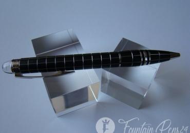 Montblanc Starwalker Solitaire Platinum Line Metal Rubber Rollerball Pen