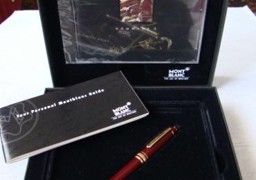 MONTBLANC HOMMAGE A AMADEUS MOZART BURGUNDI – MECANCAL PENCIL + CD
