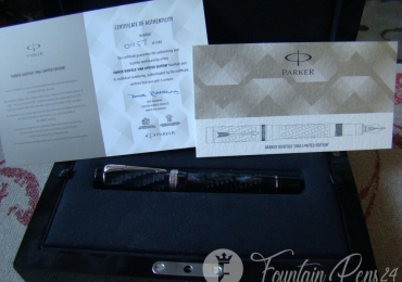 SOLD  !!!!    PARKER DUOFOLD DNA LIMITED EDITION FOUNTAIN PEN