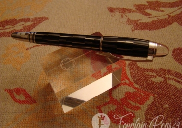 MONTBLANC STARWALKER BLACK MYSTERY FOUNTAIN PEN