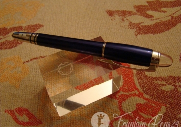 MONTBLANC STARWALKER COOL BLUE FOUNTAIN PEN