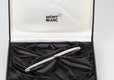 PLUMA MONTBLANC MEISTERSTUCK SOLITAIRE STAINLESS STEEL FP146