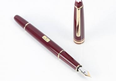 Fountain Pen MONTBLANC MEISTERSTUCK CLASSIQUE BURDEOS E341707