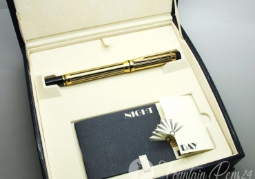 Fountain Pen Waterman LeMan 200 Night & Day Oro