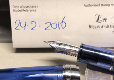 Pluma estilográfica Sailor Pro Gear Blue Sky Demostrator Fountain Pen