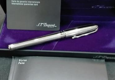 Estilográfica ST Dupont Olympio-Orpheo, platino, paladio, 480110