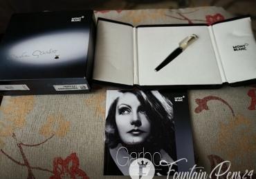 """Montblanc Greta Garbo Special Edition Fountain Pen Nib """"F""""  Estilografica"""