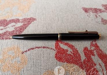 VINTAGE MONTBLANC CLIP Lever Ballpoint Pen Classic Black