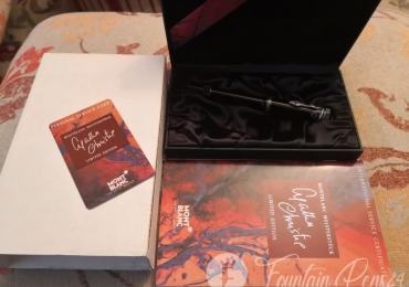 Montblanc writers edition Agatha Chritie Fountain Pen Estilográfica
