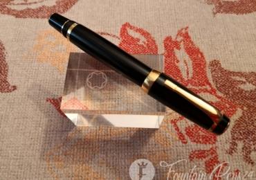 Montblanc boheme no stone gold fountain pen estilográfica