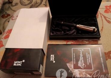 Montblanc Charles Dickens limited Edition nib F Fountain Pen Estilográfica