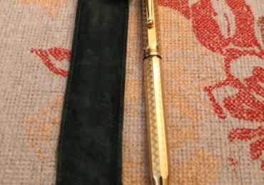 MONTEGRAPPA Reminiscence Solid Sterling Silver 925 VERMEIL 1055VI Ballpoint Pen Bolígrafo