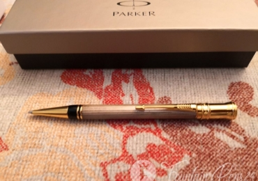 SOLD  !!!!  Parker Duofold Godron & gold Made UK Ballpoint Pen bolígrafo NEW