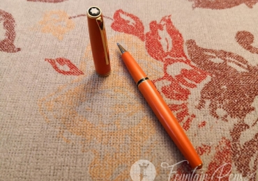 SOLD !!!  RARE Montblanc Generation Orange Rollerball Pen Roler