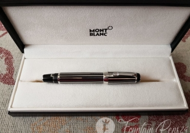 MONTBLANC Boheme CRYSTAL Platinum Plated Fountain Pen Estilográfica