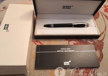 Montblanc Starwalker Black platinum Fountain Pen Estilográfica
