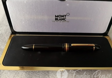 Montblanc Meisterstück 149 nib F  18k Fountain pen estilografica