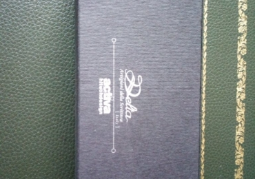 DELTA ACTIVA – Sterling Silver pluma 18 kt M