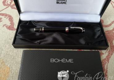 Montblanc Boheme platinum No Stone Fountain Pen ESTILOGRAFICA