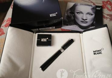 Montblanc Marlene Dietrich Fountain Pen Estilográfica Nib F