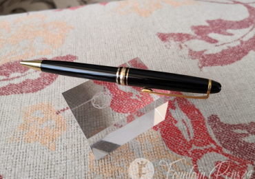 Montblanc Meisterstück Ballpoint Pen black and gold