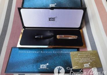 SOLD / VENDIDO    …Montblanc Meisterstuck Legrand Solitaire Doue 925 Silver Sterling Fountain Pen Estilográfica