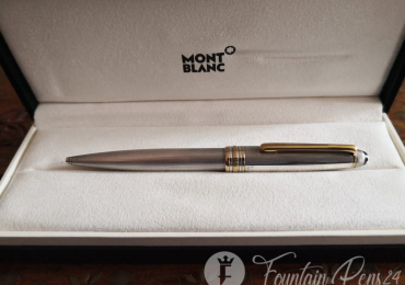 SOLD  !!!       Montblanc meisterstuck solitaire silver sterling 925 Ballpoint Pen bolígrafo