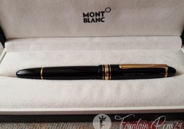 Montblanc legrand 146 vintage monocolor gold fountain pen estilográfica