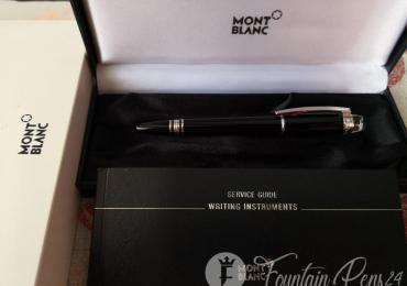 Montblanc starwalker platinum fountain pen estilográfica