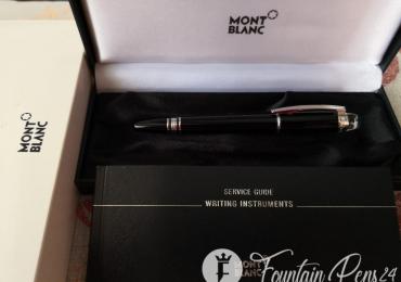 """Montblanc starwalker platinum fountain pen estilográfica """"NEW"""""""