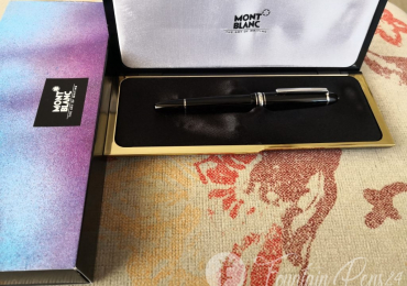 Sold.  . Montblanc Meisterstück 146 LeGrand Platinum Fountain Pen Estilografica NEW
