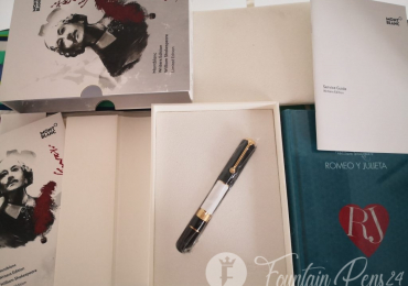 SOLD!!!!!!Montblanc writers limited edition William Shakespear fountain pen nib M. NEW!!!