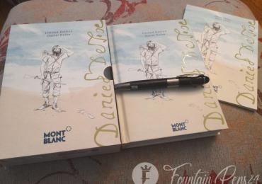 SOLD   . MONTBLANC DANIEL DEFOE writers Edition limited Fountain Pen Estilográfica Nib F NEW
