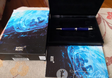 """SOLD !!      ..Montblanc writers limited edition JULES VERNE Ballpoint Pen bolígrafo """"NEW"""""""""""