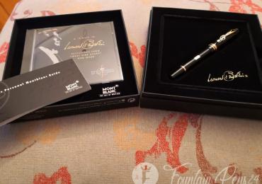 Montblanc Leonard Bernstein Special Edition fountain pen Nib F  estilográfica