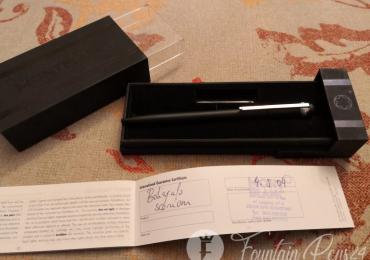 Montblanc Scenium black matte Ballpoint Pen bolígrafo