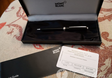 Montblanc 114797 pix black ballpoint pen bolígrafo