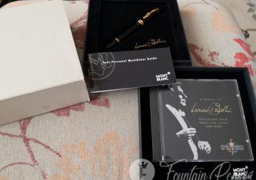 Montblanc Leonard Bernstein Special Edition fountain pen estilográfica Nib F NEW
