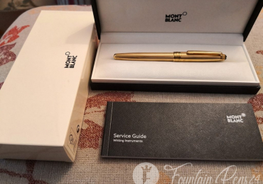 Montblanc meisterstuck solitaire Vermeil silver Gold Metal 3 rollerball pen Roler